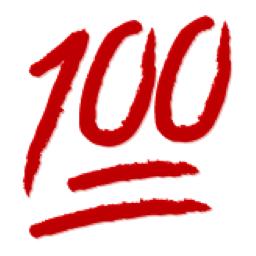 One-hunna-emoji