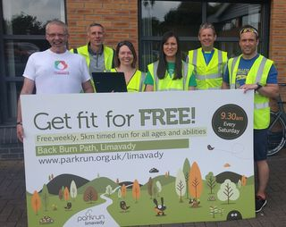 Limavady parkrun volunteers 28-May-2016